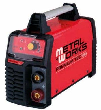 Soldadora Inverter Metalworks TEC 160 - Electrodos MMA